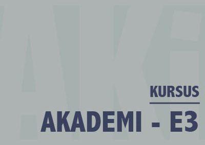 Akademi – E3