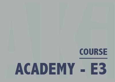 Academy – E3