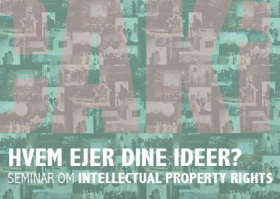 WHO OWNS YOUR IDEAS ?  Seminar on Intellectual Property Rights