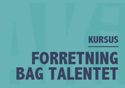 Forretning bag Talentet