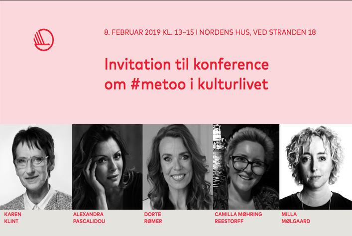 Invitation til konference om #metoo i kulturlivet