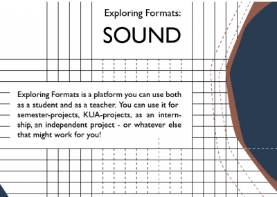 Exploring Formats_SOUND