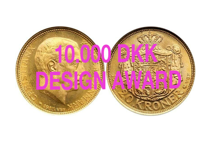 10.000 DKK Design award