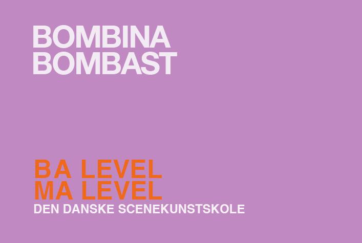 Bombina Bombast / BA +MA