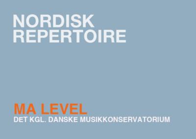 Nordic Repertoire / MA
