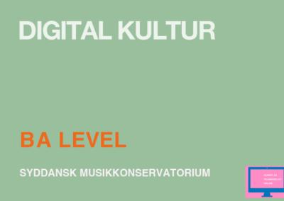 Digital Kultur / BA