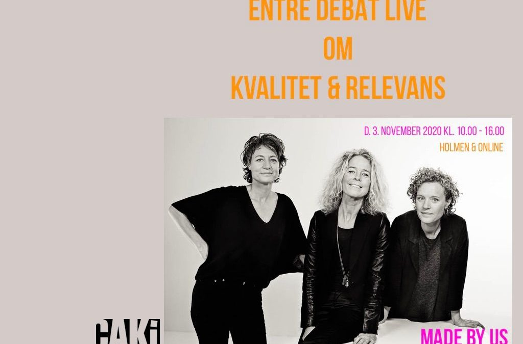 ENTRE DEBAT LIVE: Made By Us