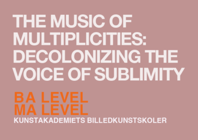 The Music of Multiplicities