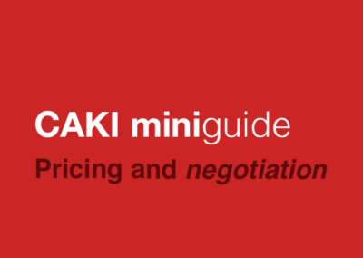 Pricing and negotiation