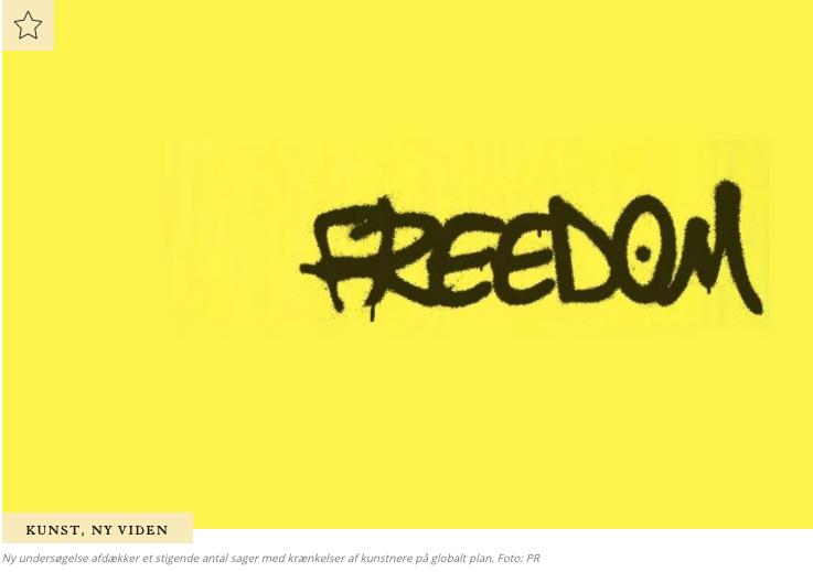 International rapport gør status over kunstnerisk ytringsfrihed