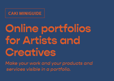 Online portfolios for Artists and Creatives