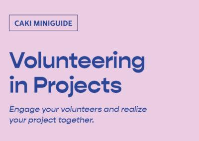 Volunteering in Projects
