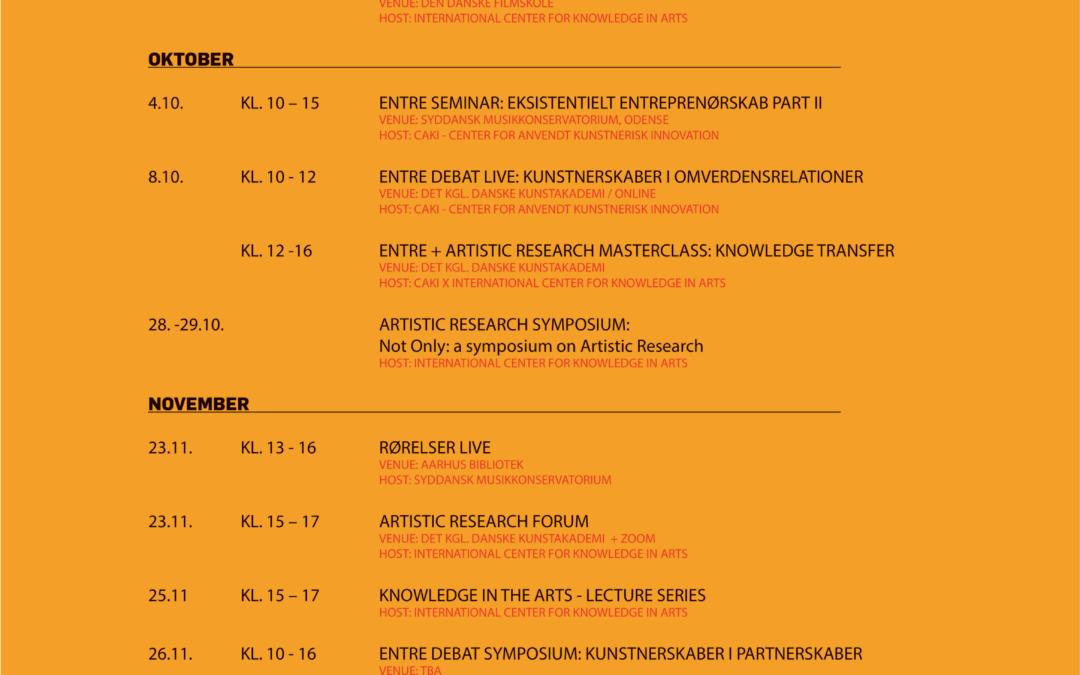 Opdatering til kunstskolernes fælles program
